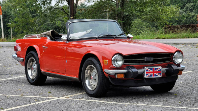 1976 Triumph TR6 for sale at Rare Exotic Vehicles in Asheville NC
