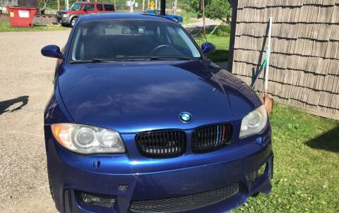 2008 BMW 1 Series for sale at Richard C Peck Auto Sales in Wellsville NY