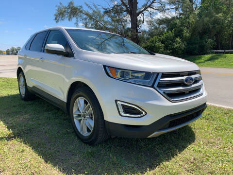 2017 Ford Edge for sale at Nation Autos Miami in Hialeah FL