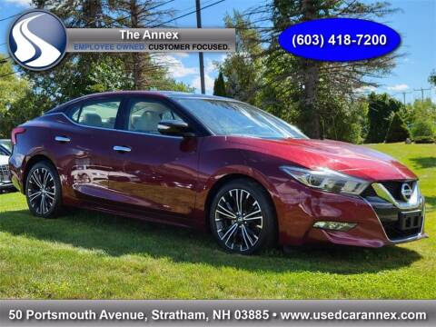 2016 Nissan Maxima for sale at The Annex in Stratham NH