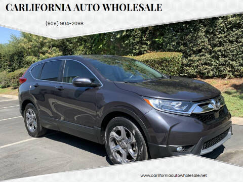 2017 Honda CR-V for sale at CARLIFORNIA AUTO WHOLESALE in San Bernardino CA
