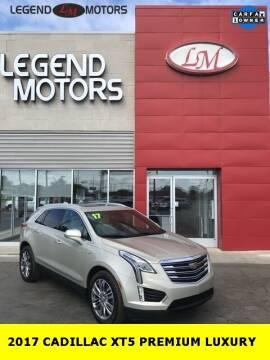 2017 Cadillac XT5 for sale at Legend Motors of Ferndale in Ferndale MI