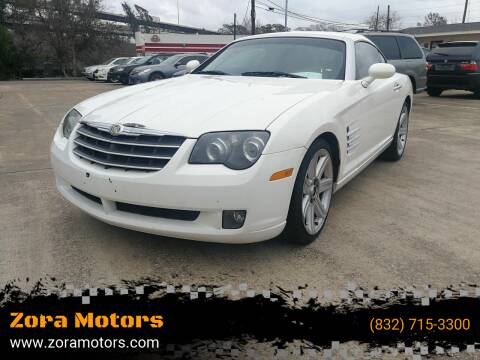 2005 Chrysler Crossfire for sale at Zora Motors in Houston TX