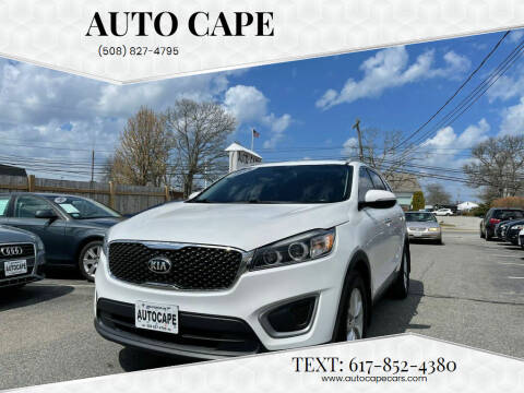 2016 Kia Sorento for sale at Auto Cape in Hyannis MA