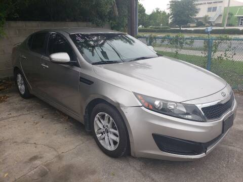2011 Kia Optima for sale at Track One Auto Sales in Orlando FL