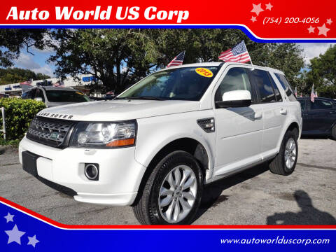 2013 Land Rover LR2 for sale at Auto World US Corp in Plantation FL