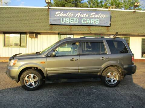 2007 Honda Pilot for sale at SHULTS AUTO SALES INC. in Crystal Lake IL