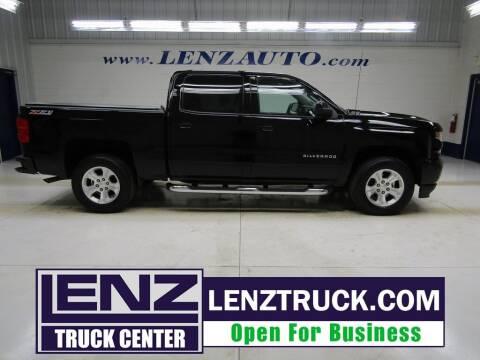 2017 Chevrolet Silverado 1500 for sale at LENZ TRUCK CENTER in Fond Du Lac WI