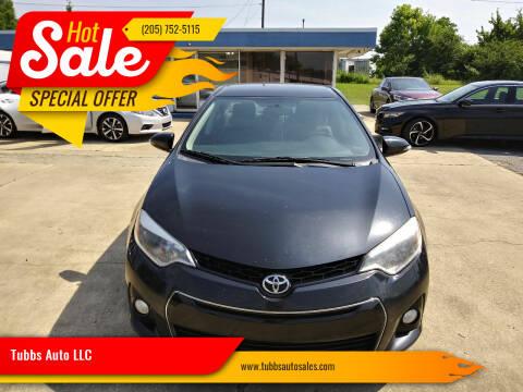 2014 Toyota Corolla for sale at Tubbs Auto LLC in Tuscaloosa AL