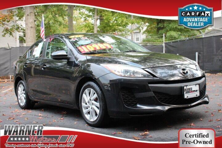 2012 Mazda MAZDA3 for sale at Warner Motors in East Orange NJ