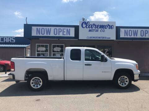 2009 GMC Sierra 1500 for sale at Claremore Motor Company in Claremore OK