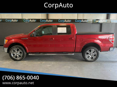 2009 Ford F-150 for sale at CorpAuto in Cleveland GA