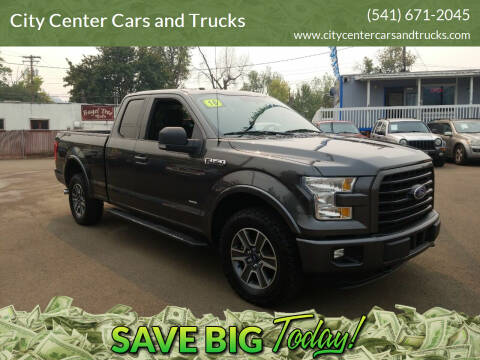 2016 Ford F-150 for sale at City Center Cars and Trucks in Roseburg OR