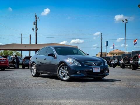 2012 Infiniti G37 Sedan for sale at Jerrys Auto Sales in San Benito TX