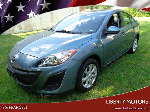 2010 Mazda MAZDA3 for sale at Liberty Motors in Chesapeake VA