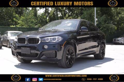 2017 BMW X6 for sale at Certified Luxury Motors in Great Neck NY