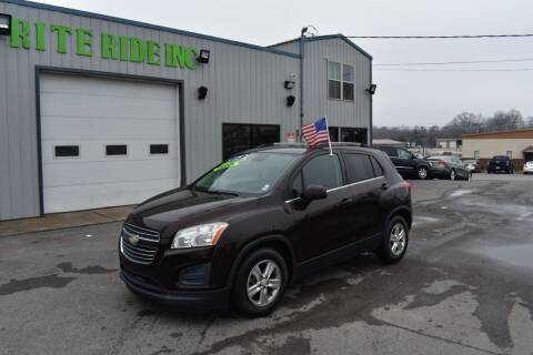 2015 Chevrolet Trax for sale at Rite Ride Inc 2 in Shelbyville TN
