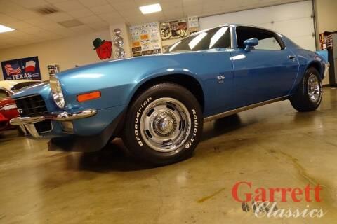 1972 Chevrolet Camaro for sale at Garrett Classics in Lewisville TX