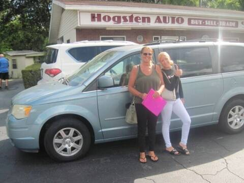 2008 Chrysler Town and Country for sale at HOGSTEN AUTO WHOLESALE in Ocala FL