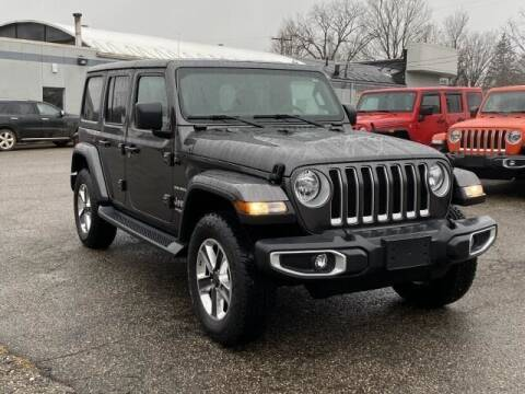2020 Jeep Wrangler Unlimited for sale at K&M Wayland Chrysler  Dodge Jeep Ram in Wayland MI