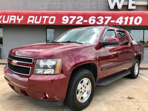 2008 Chevrolet Avalanche for sale at Texas Luxury Auto in Cedar Hill TX
