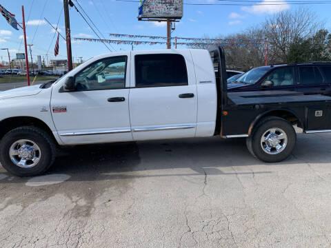 2007 Dodge Ram Pickup 3500 for sale at BULLSEYE MOTORS INC in New Braunfels TX