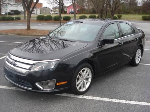 2010 Ford Fusion for sale at Uniworld Auto Sales LLC. in Greensboro NC