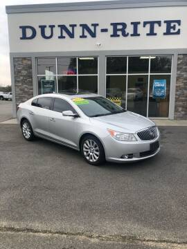 2013 Buick LaCrosse for sale at Dunn-Rite Auto Group in Kilmarnock VA