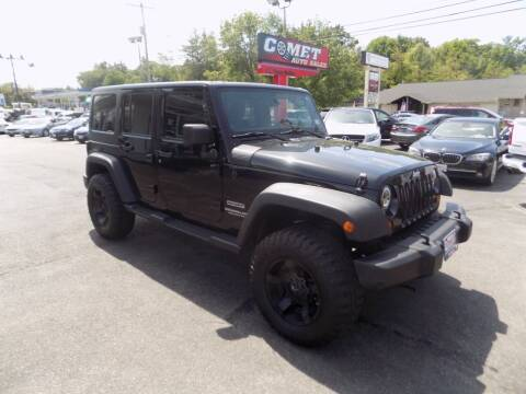 2011 Jeep Wrangler Unlimited for sale at Comet Auto Sales in Manchester NH