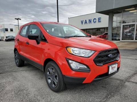 2020 Ford EcoSport for sale at Vance Fleet Services in Guthrie OK