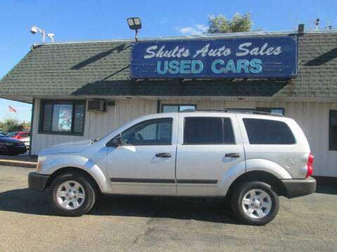 2005 Dodge Durango for sale at SHULTS AUTO SALES INC. in Crystal Lake IL