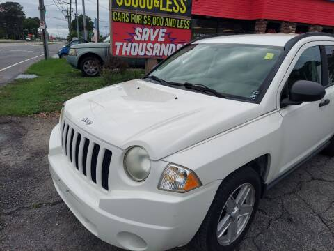 2007 Jeep Compass for sale at HW Auto Wholesale in Norfolk VA