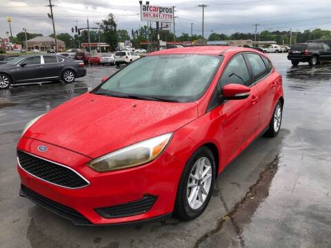 2015 Ford Focus for sale at Arkansas Car Pros in Cabot AR