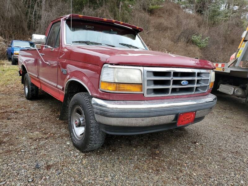 1992 Ford F-150 for sale at Alfred Auto Center in Almond NY