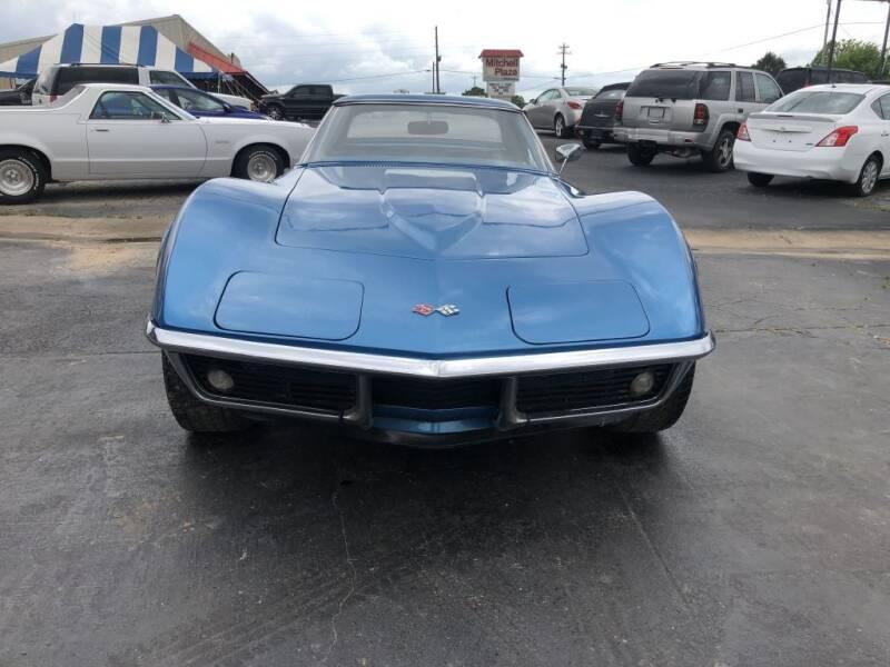 1969 Chevrolet Corvette for sale at EAGLE ROCK AUTO SALES in Eagle Rock MO