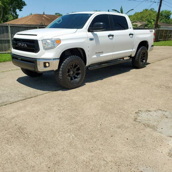 2016 Toyota Tundra for sale at MOTORSPORTS IMPORTS in Houston TX