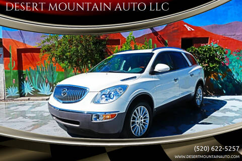 2010 Buick Enclave for sale at DESERT MOUNTAIN AUTO LLC in Tucson AZ