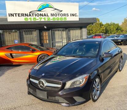 2014 Mercedes-Benz CLA for sale at International Motors Inc. in Nashville TN