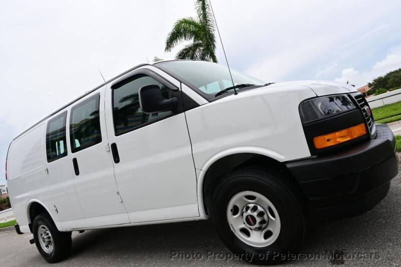 2020 GMC Savana Cargo for sale at MOTORCARS in West Palm Beach FL