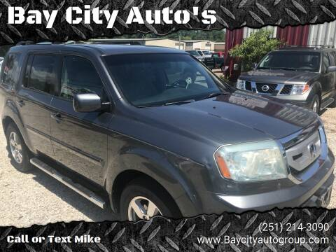 2011 Honda Pilot for sale at Bay City Auto's in Mobile AL