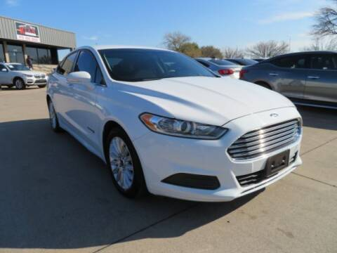 2015 Ford Fusion Hybrid for sale at KIAN MOTORS INC in Plano TX