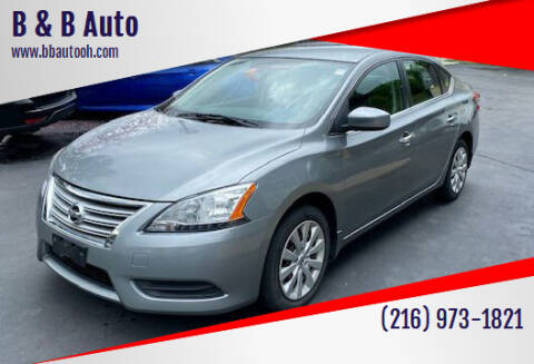 2013 Nissan Sentra for sale at B & B Auto in Cleveland OH
