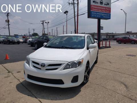 2012 Toyota Corolla for sale at Nationwide Auto Group in Melrose Park IL