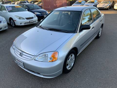 2001 Honda Civic for sale at C. H. Auto Sales in Citrus Heights CA