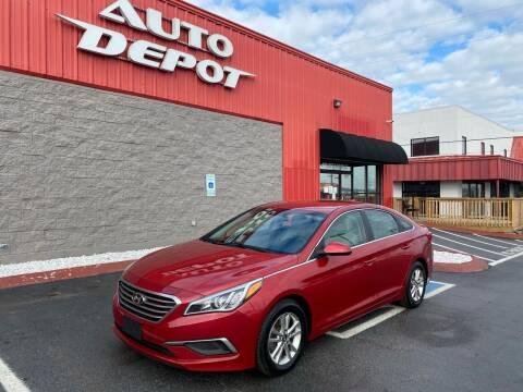 2017 Hyundai Sonata for sale at Auto Depot of Smyrna in Smyrna TN