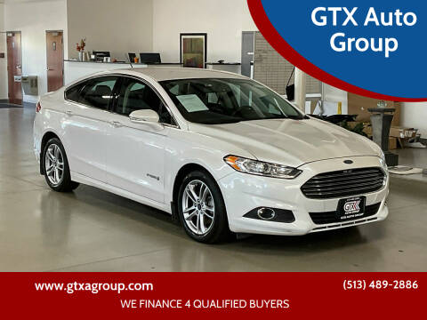 2016 Ford Fusion Hybrid for sale at UNCARRO in West Chester OH