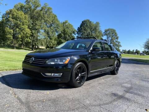 2012 Volkswagen Passat for sale at Moundbuilders Motor Group in Heath OH