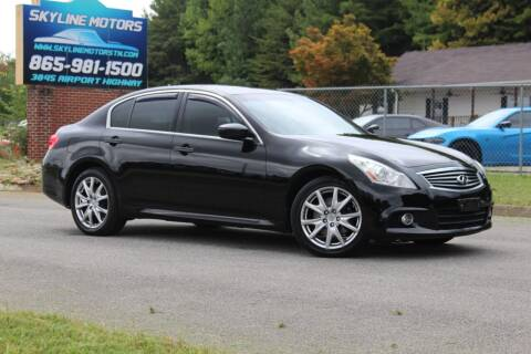 2012 Infiniti G37 Sedan for sale at Skyline Motors in Louisville TN