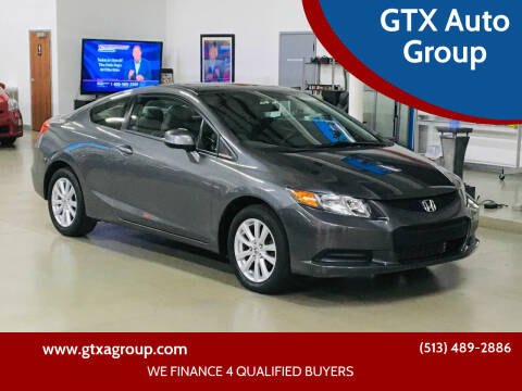 2012 Honda Civic for sale at GTX Auto Group in West Chester OH