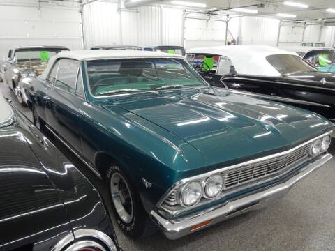 1966 Chevrolet Malibu for sale at Custom Rods and Muscle in Celina OH